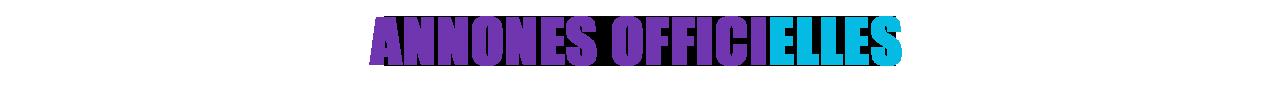 Annonces Officielles Gamescom
