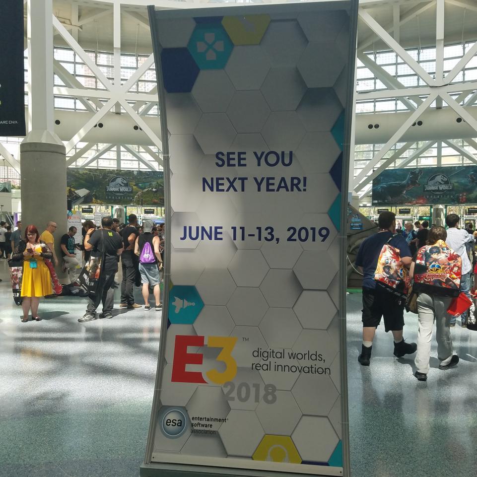Dates E3 2019
