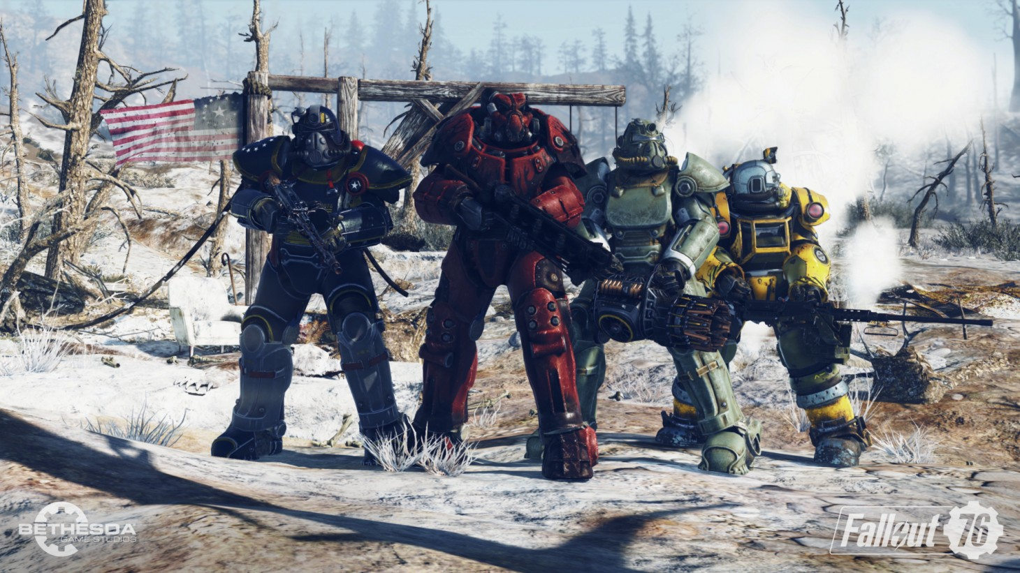 Fallout 76, jeu multijoueur Bethesda Softworks