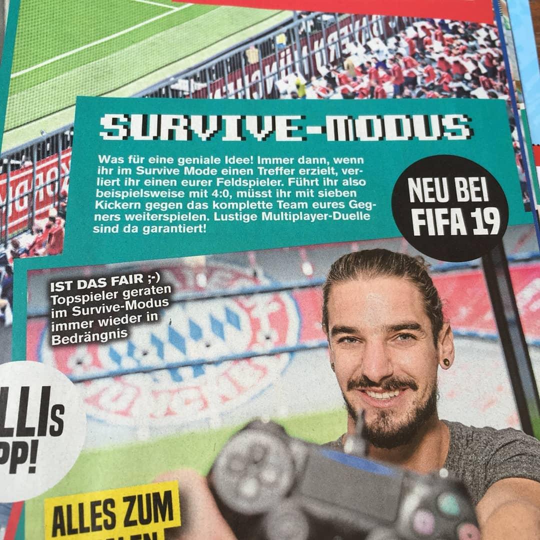 Leak FIFA 19 Mode Survie