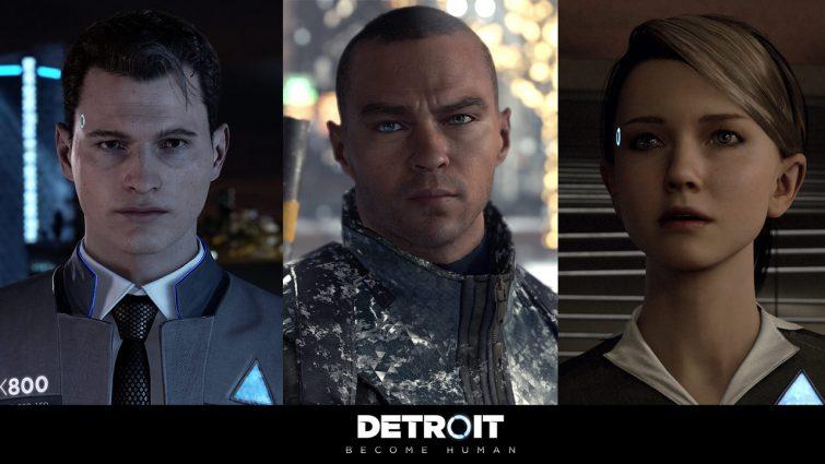 Detroit Become Human : Connor, Markus, Kara