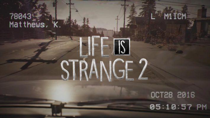 Life is Strange 2 se dévoilera le 20 aout, voici un premier teaser