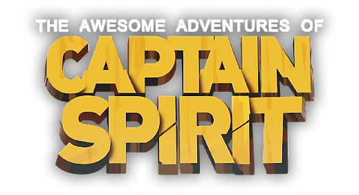 Logo The Awesome Adventures of Captain Spirit