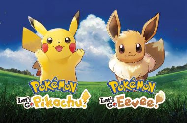 Mega-Evolutions Pokemon Let's Go Pikachu/Evoli