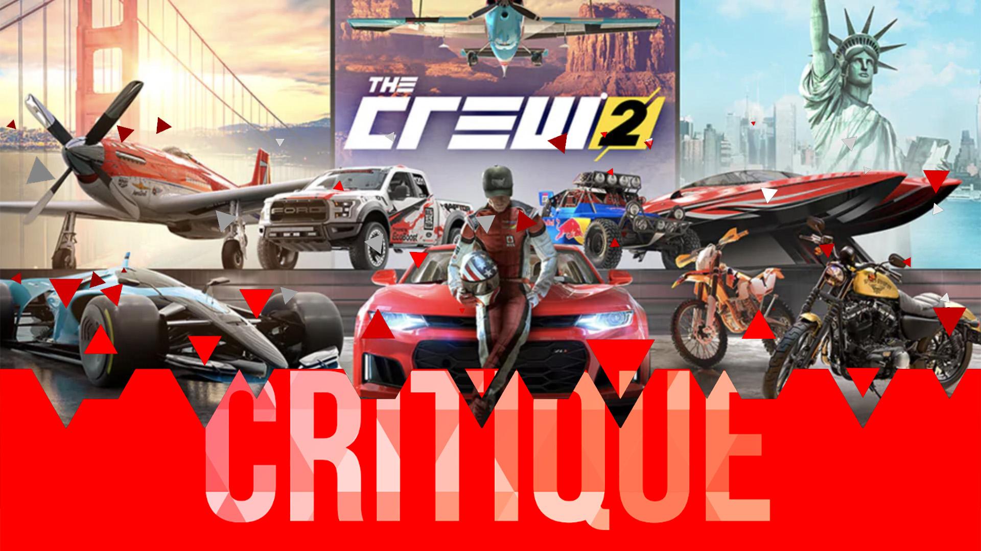 Critique The Crew 2