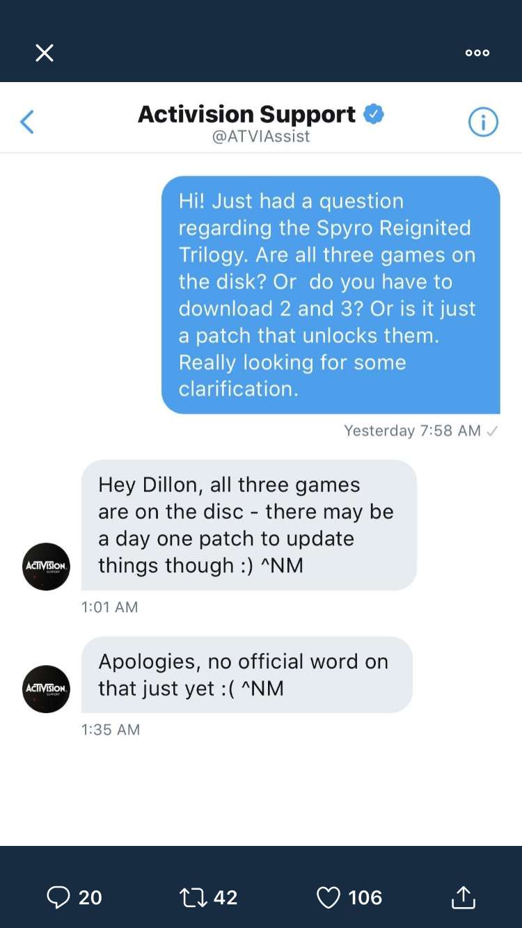 MP Activision Spyro Reignited Trilogy