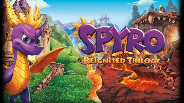 Spyro Reignited Trilogy repoussé