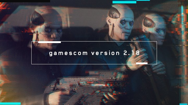 Tease Cyberpunk 2077 Gamescom 2018