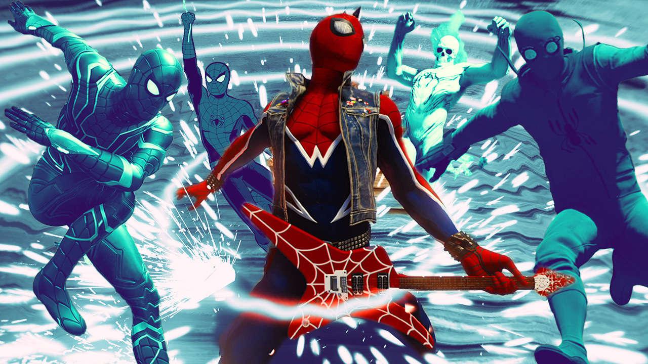Drôles de tenues pour Spidey - Spider-Man PS4
