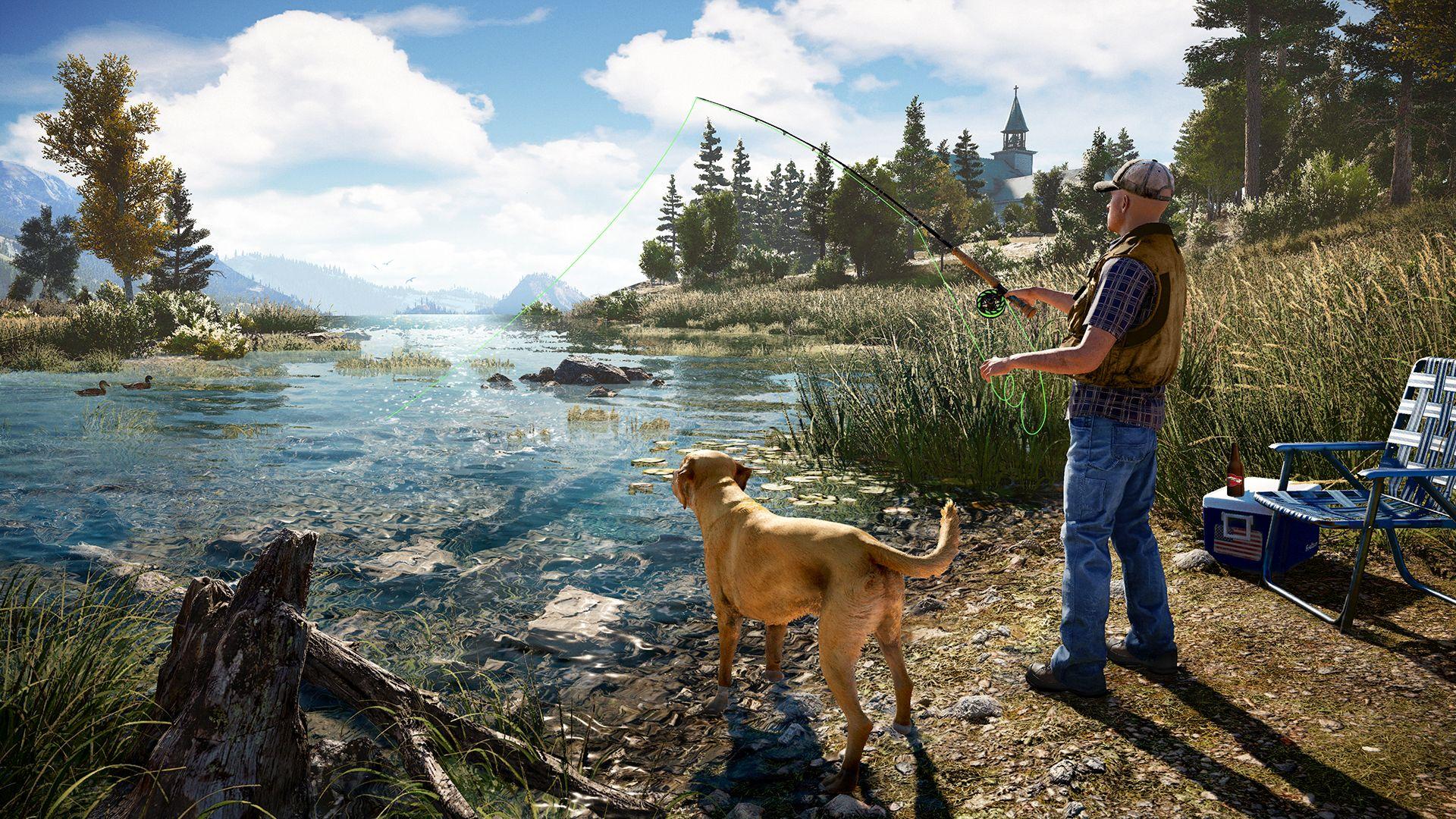 FarCry 5 : Vive la pêche !