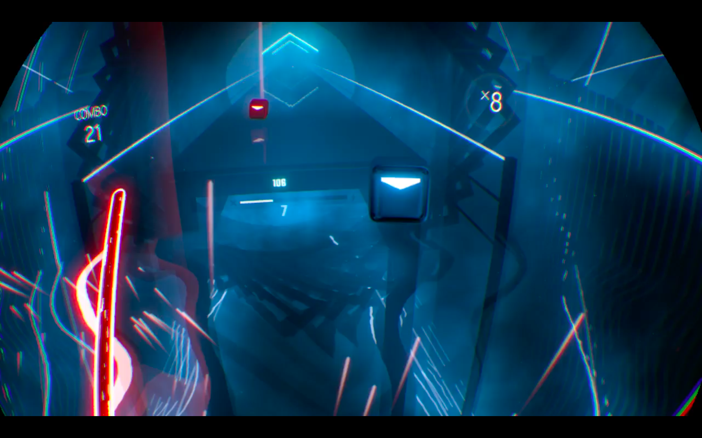 Beat Saber PlayStation 4 Screenshot PSVR