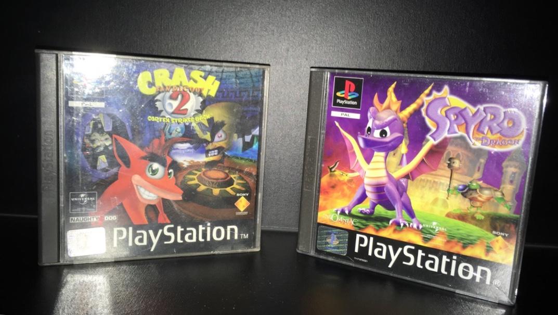 Crash Bandicoot 2 et Spyro the Dragon