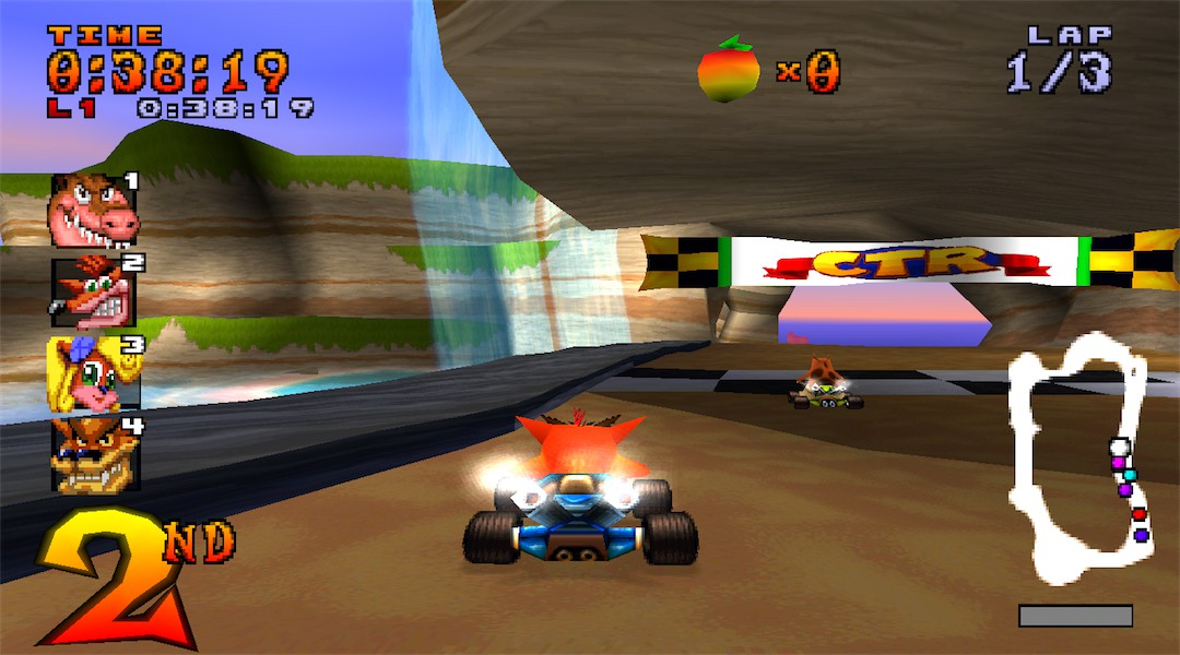 CTR - Crash Team Racing - Crique Crash
