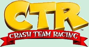 Logo CTR Crash Team Racing