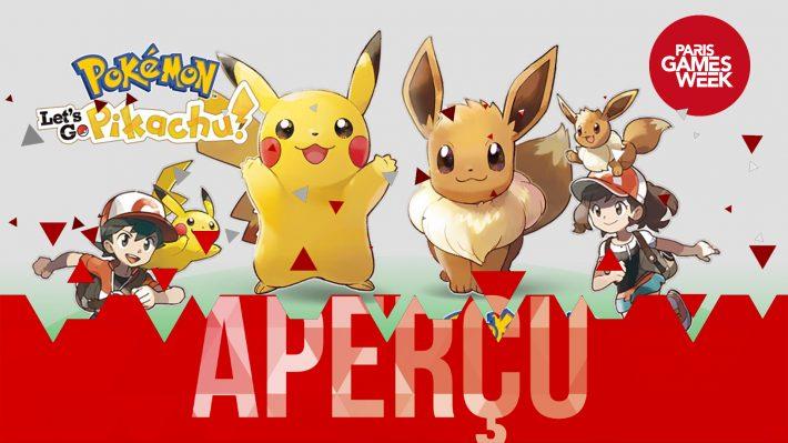 Aperçu PGW Pokémon Let's Go
