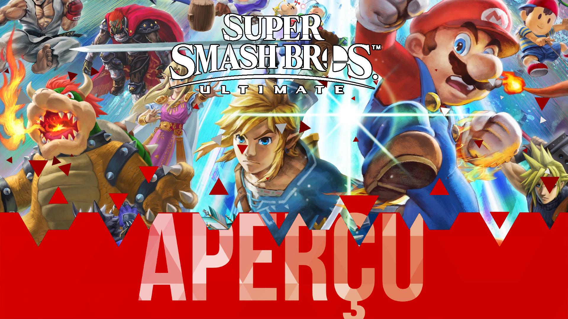 Aperçu Super Smash Bros. Ultimate
