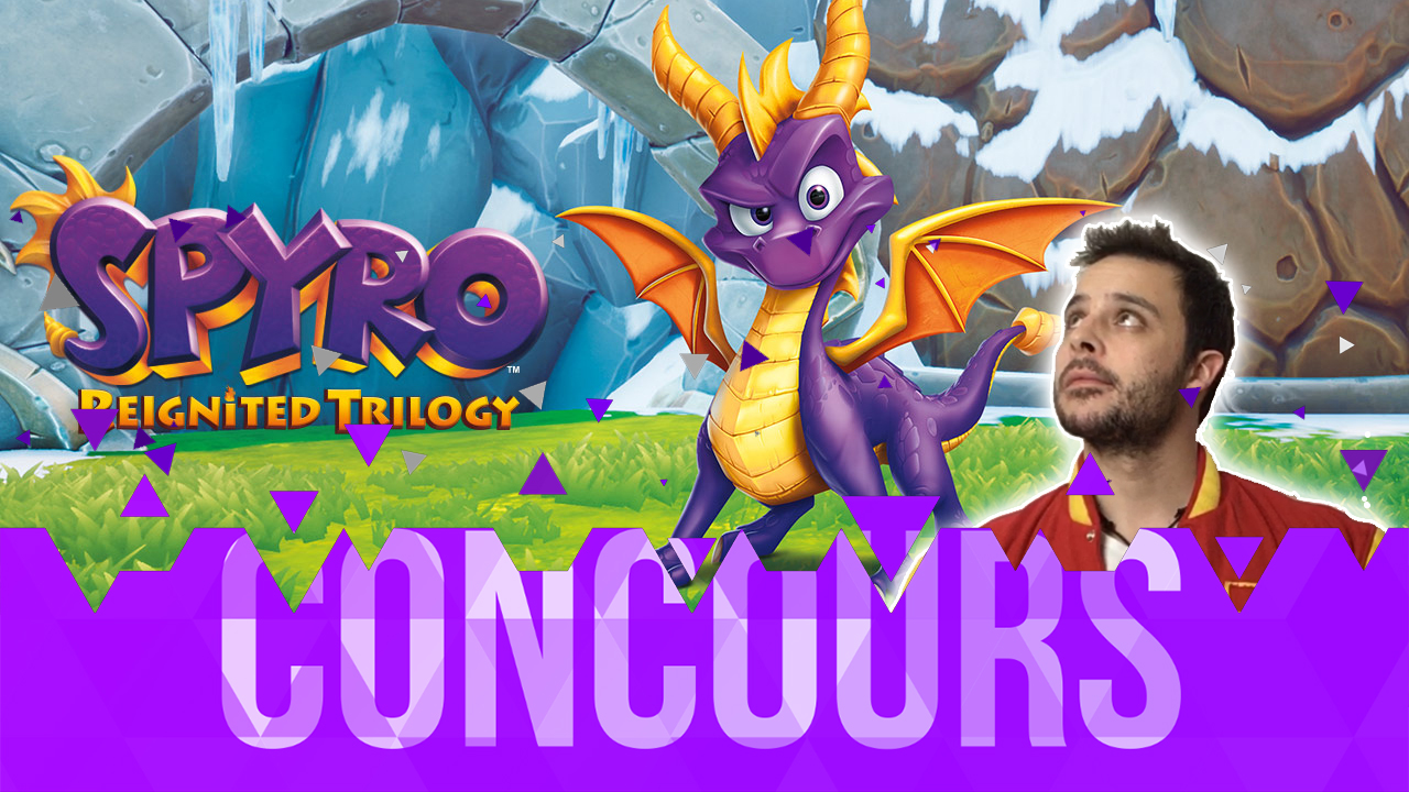 Concours Spyro Reignited Trilogy