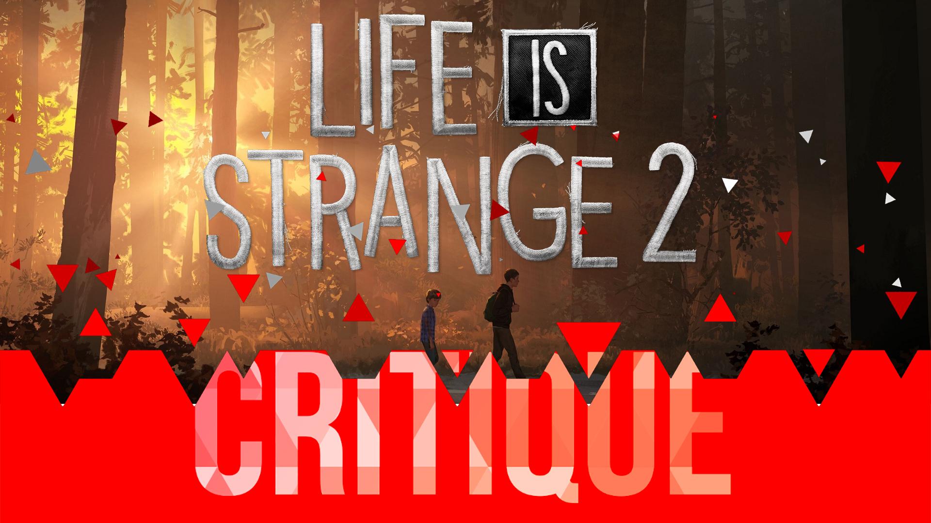 Critique Life is Strange 2 Ep.01