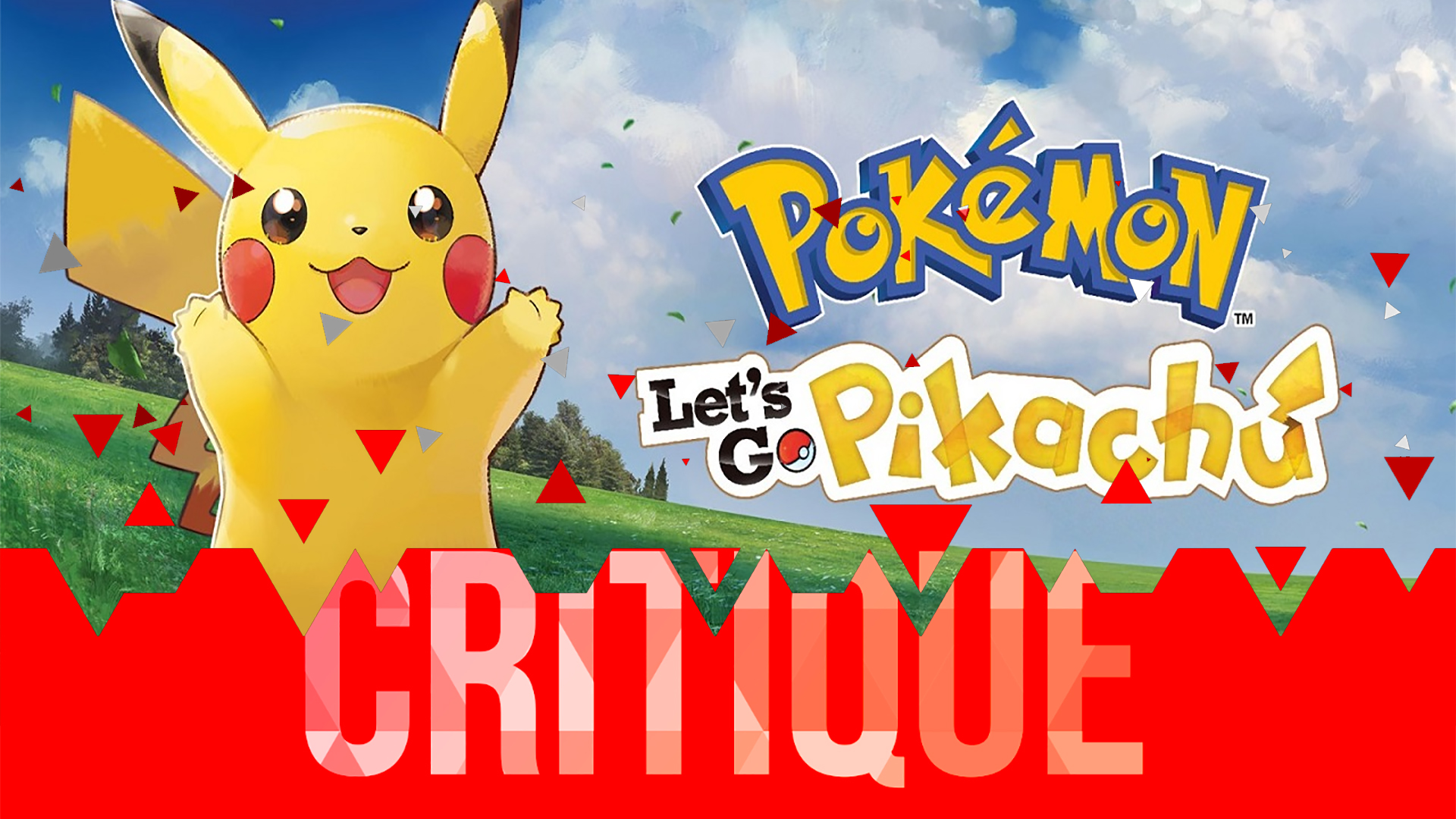 Critique Pokémon Let's Go Pikachu