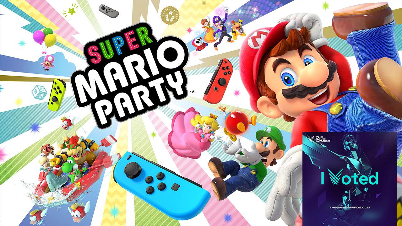 Vote Super Mario Party