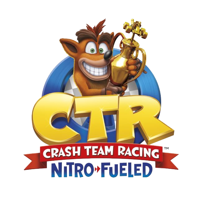 Logo CTR Crash Team Racing Nitro Fueled