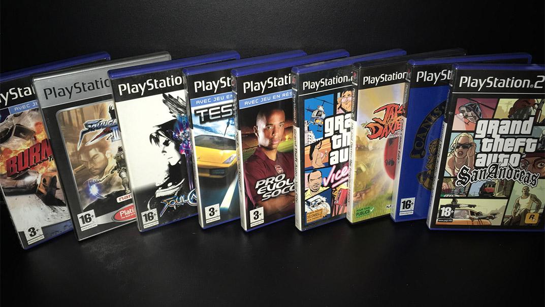 Mes Jeux Cultes PS2