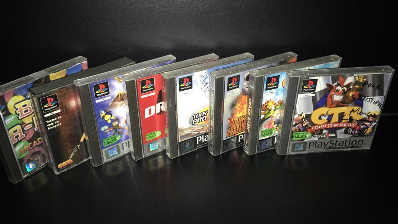 Mes jeux cultes PS One
