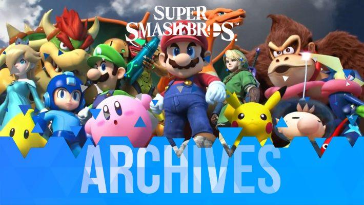 Les Archives de la licence Super Smash Bros.