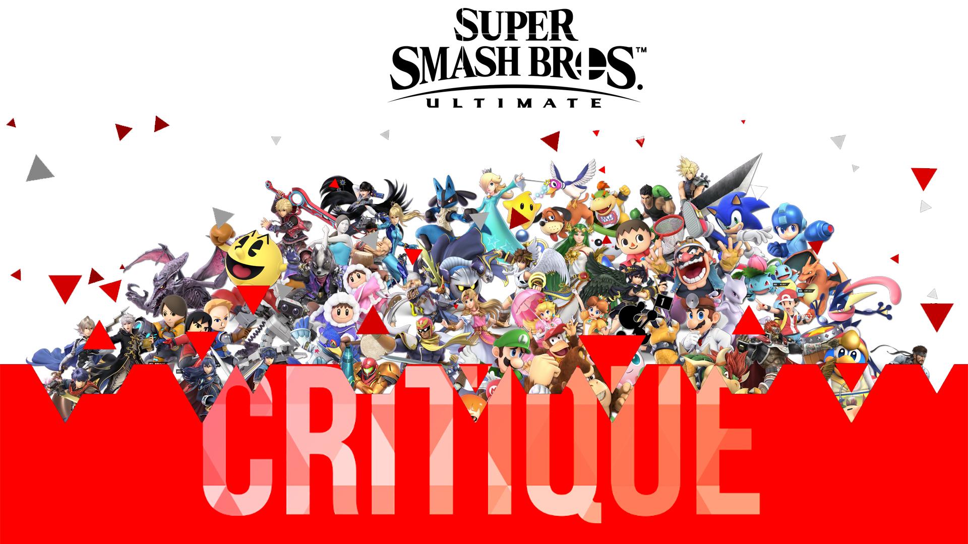 Critique Super Smash Bros Ultimate