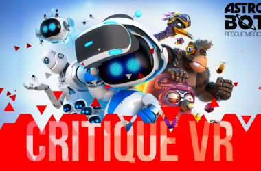 Critique VR Astro Bot Rescue Mission