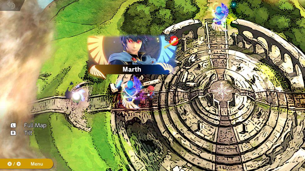 MAP mode histoire Super Smash Bros Ultimate
