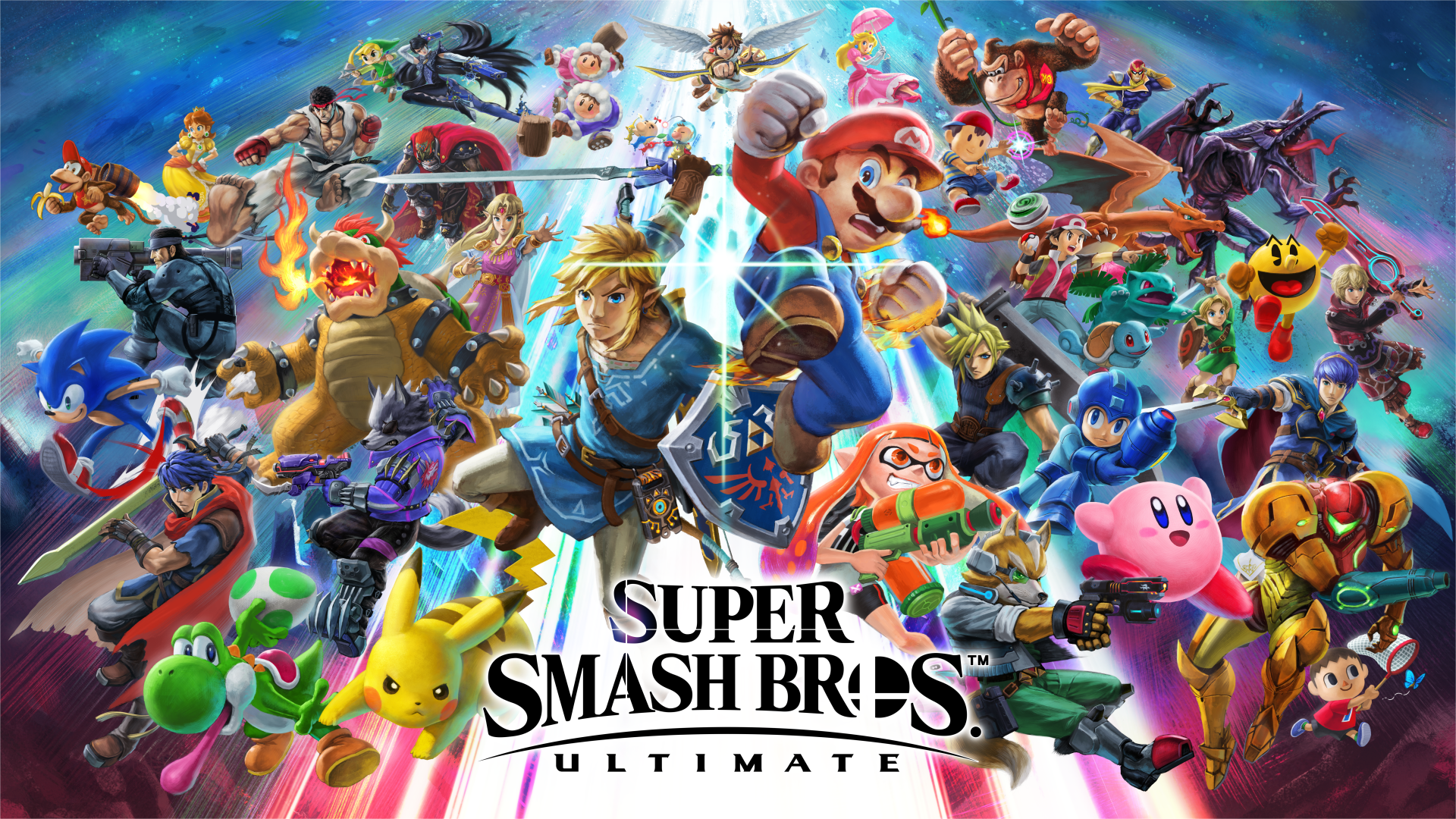 Artwork Super Smash Bros Ultimate