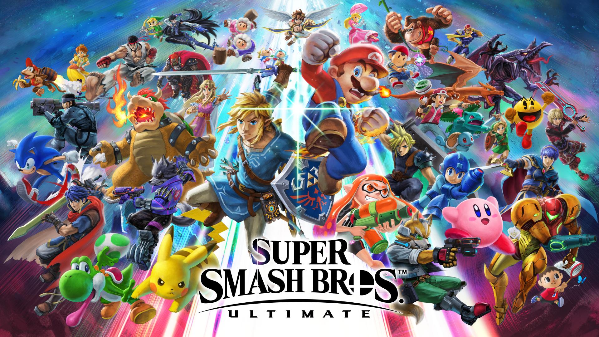 Artwork Super Smash Bros Ultimate