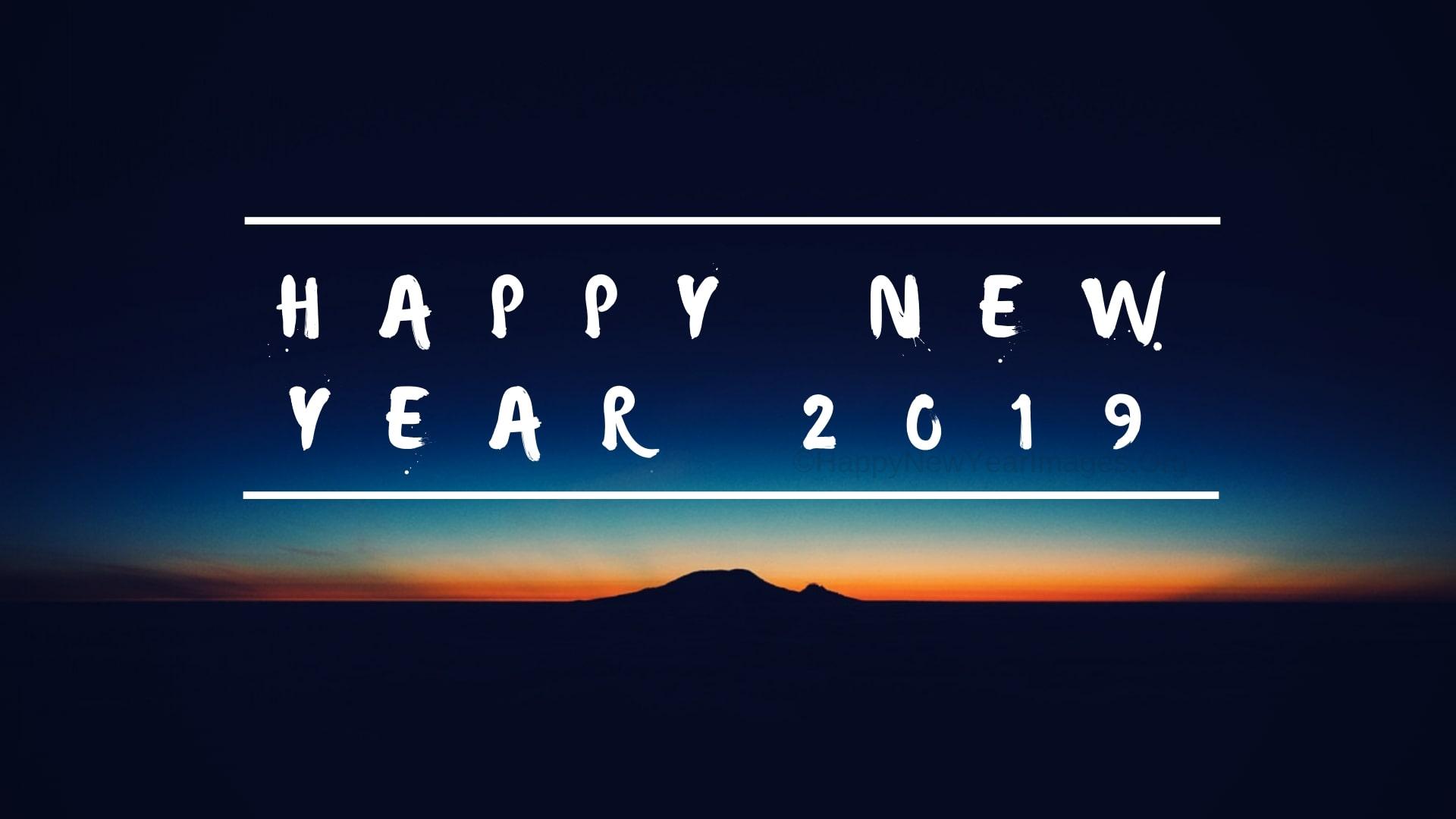 Meilleurs Vœux 2019 Bonne Année 2019