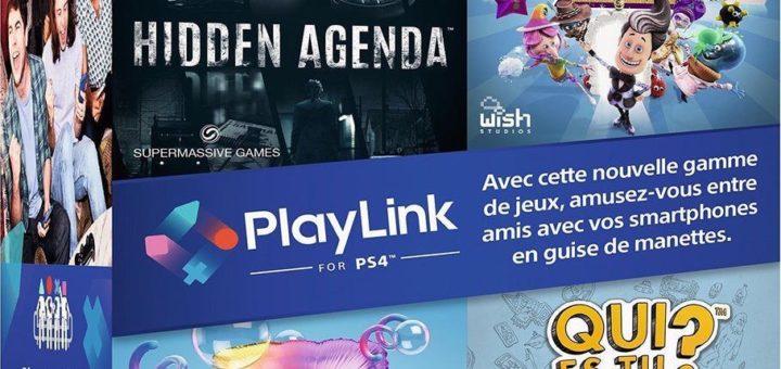 Des jeux PlayLink