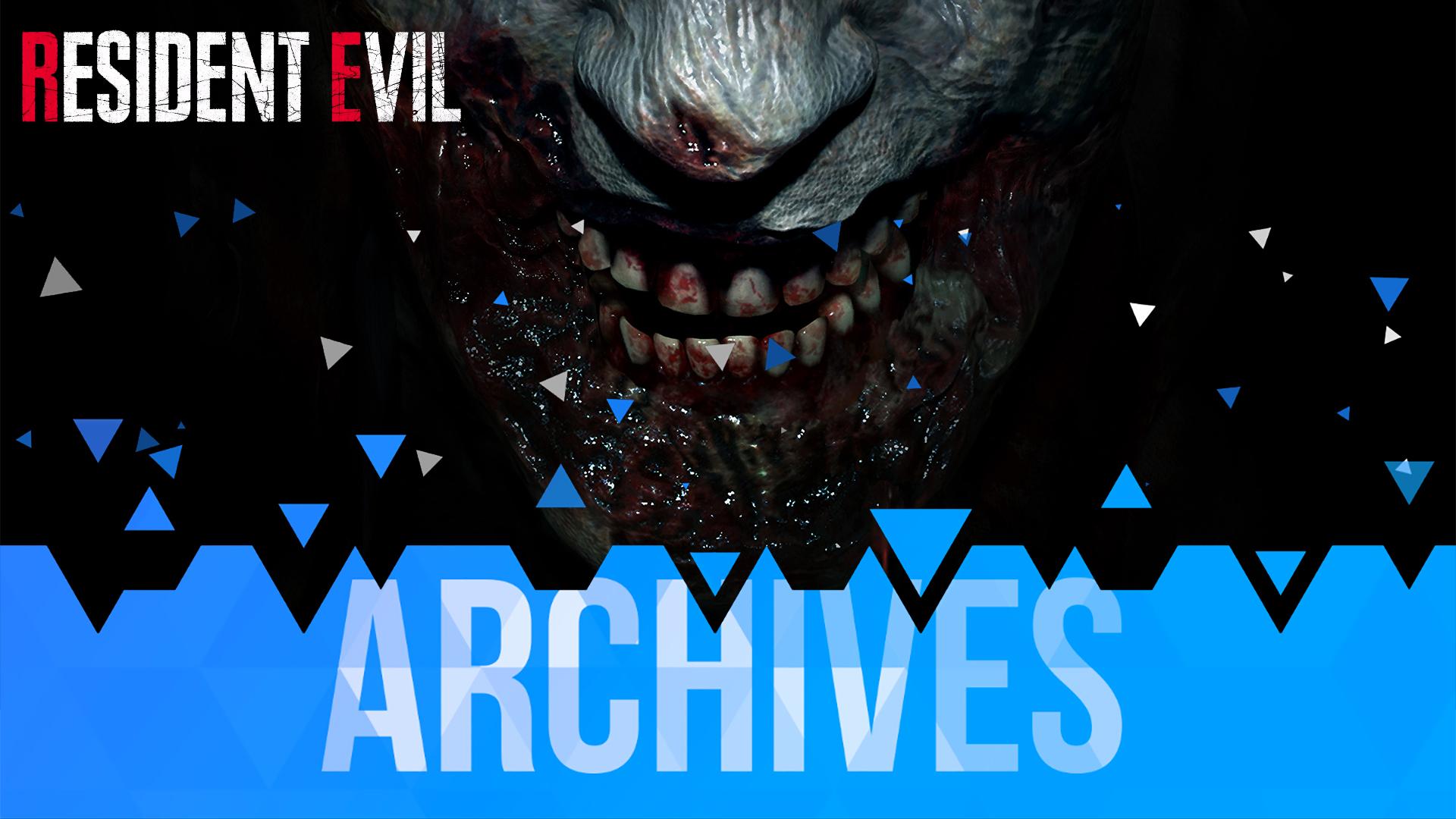 Les Archives de la Licence Resident Evil