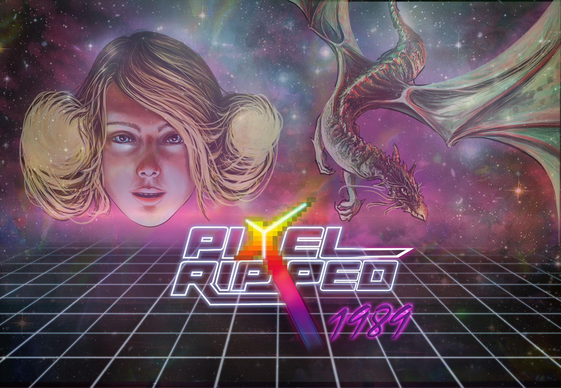 Test Pixel Ripped 1989 PSVR