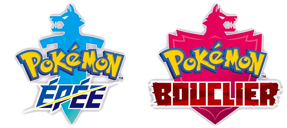 Logos Pokémon Épée et Pokémon Bouclier