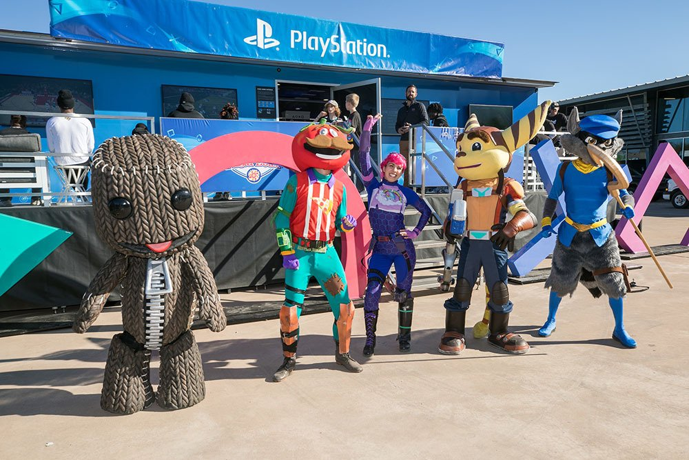 PlayStation Fiesta Bowl 2019 Sly Cooper