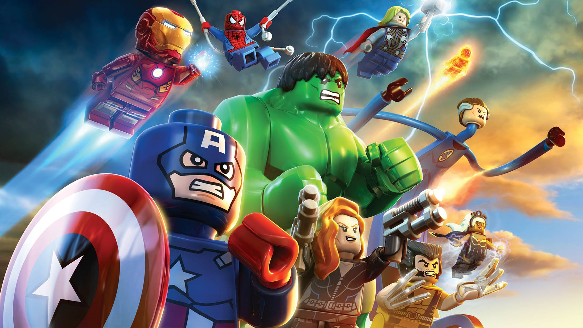 LEGO Marvel Wallpaper