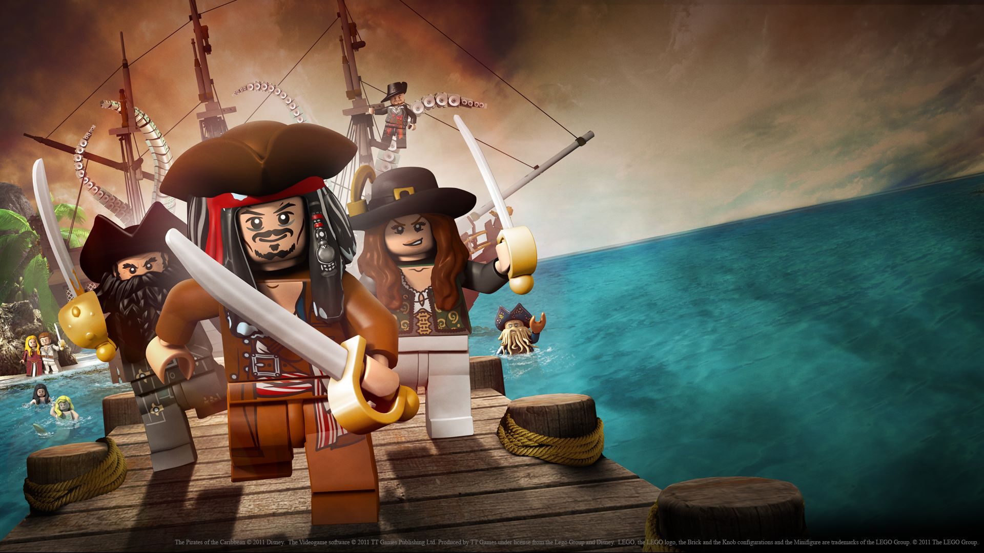 LEGO Pirates des Caraïbes Wallpaper