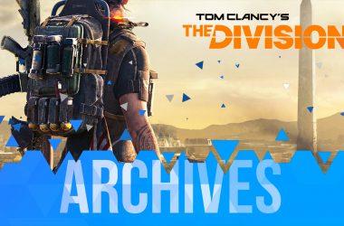 Les Archives de The Division