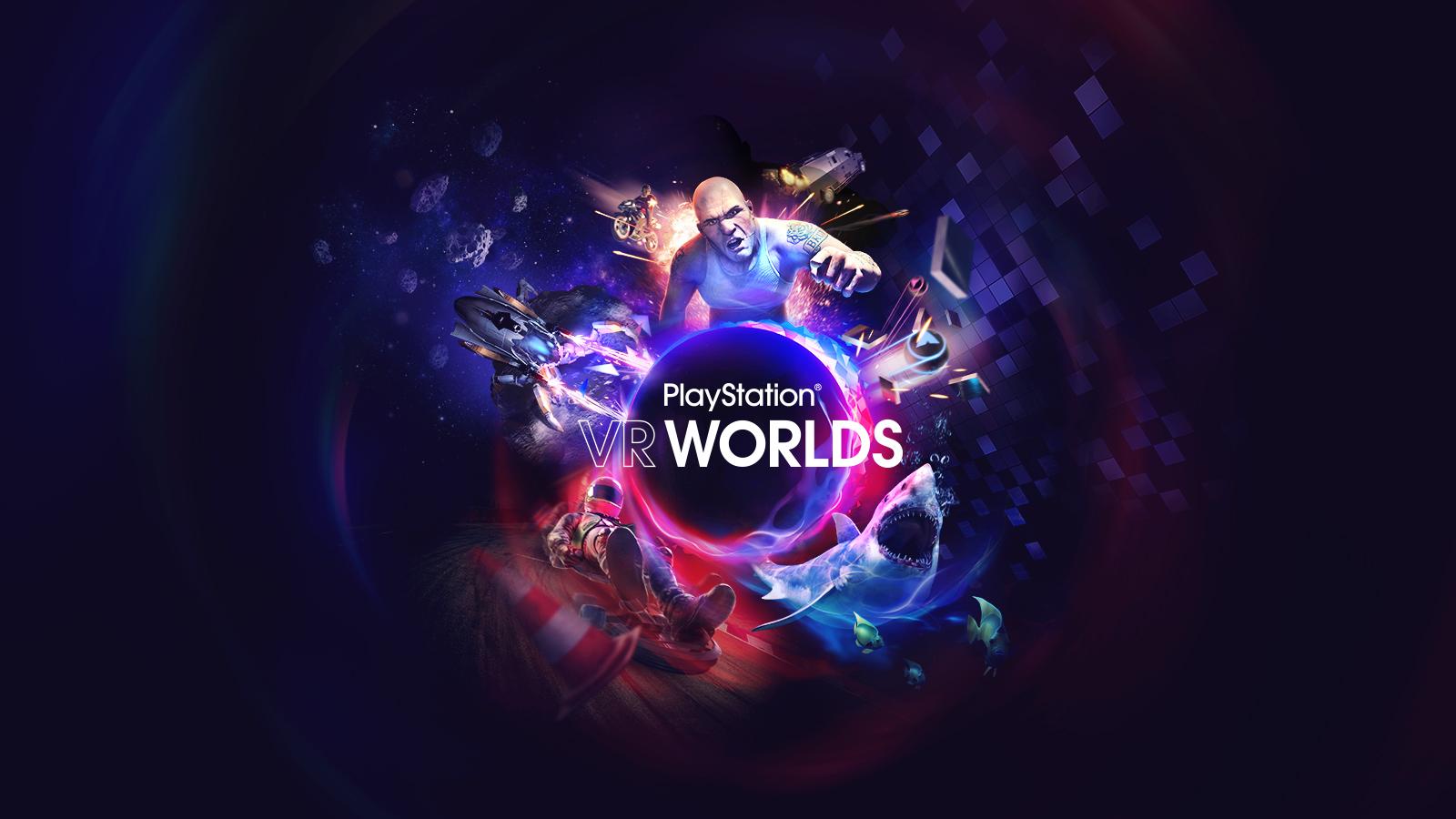 Top 10 Jeux VR - 09 PlayStation VR Worlds