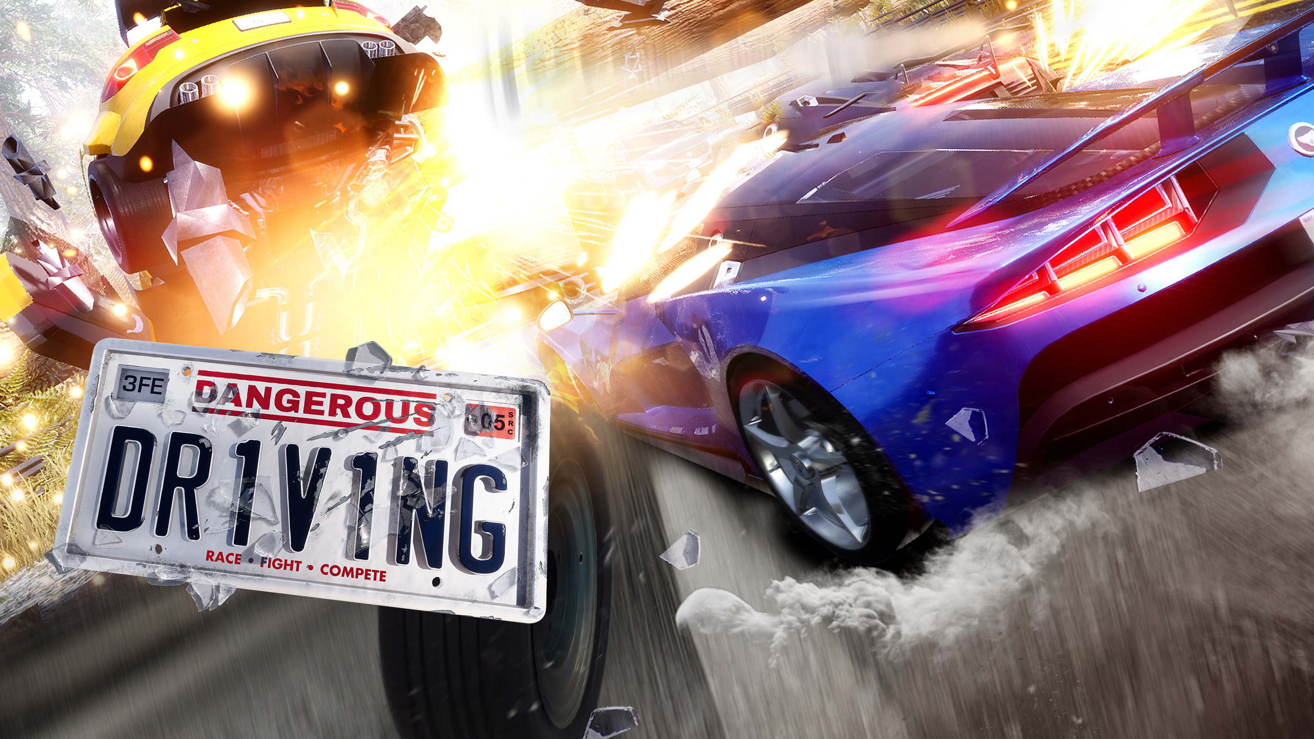 Wallpaper Dangerous Driving