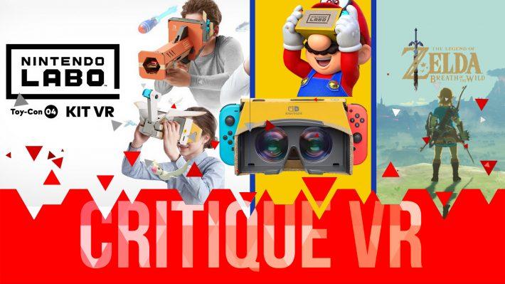 Critique VR Nintendo Labo