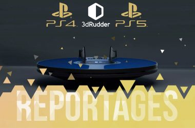 Reportage 3D Rudder Liberty's Games