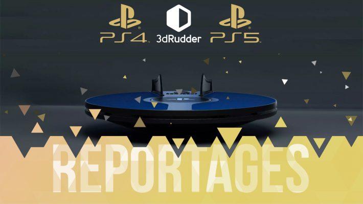 Reportage 3D Rudder Liberty's Games