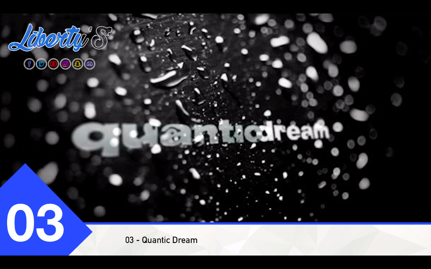 Top 03 - Quantic Dream