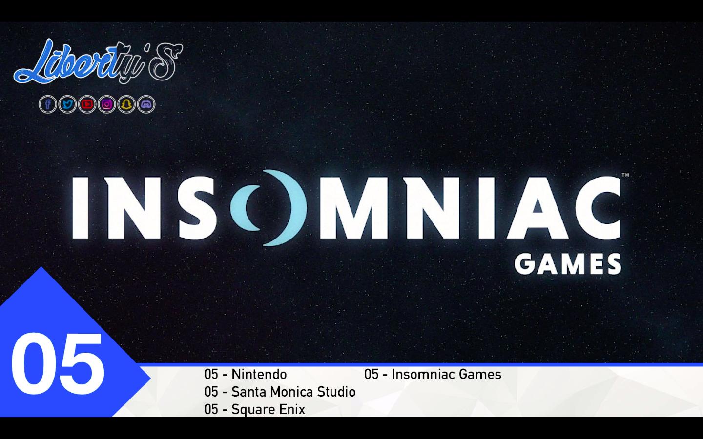 Top 05 - Insomniac Games