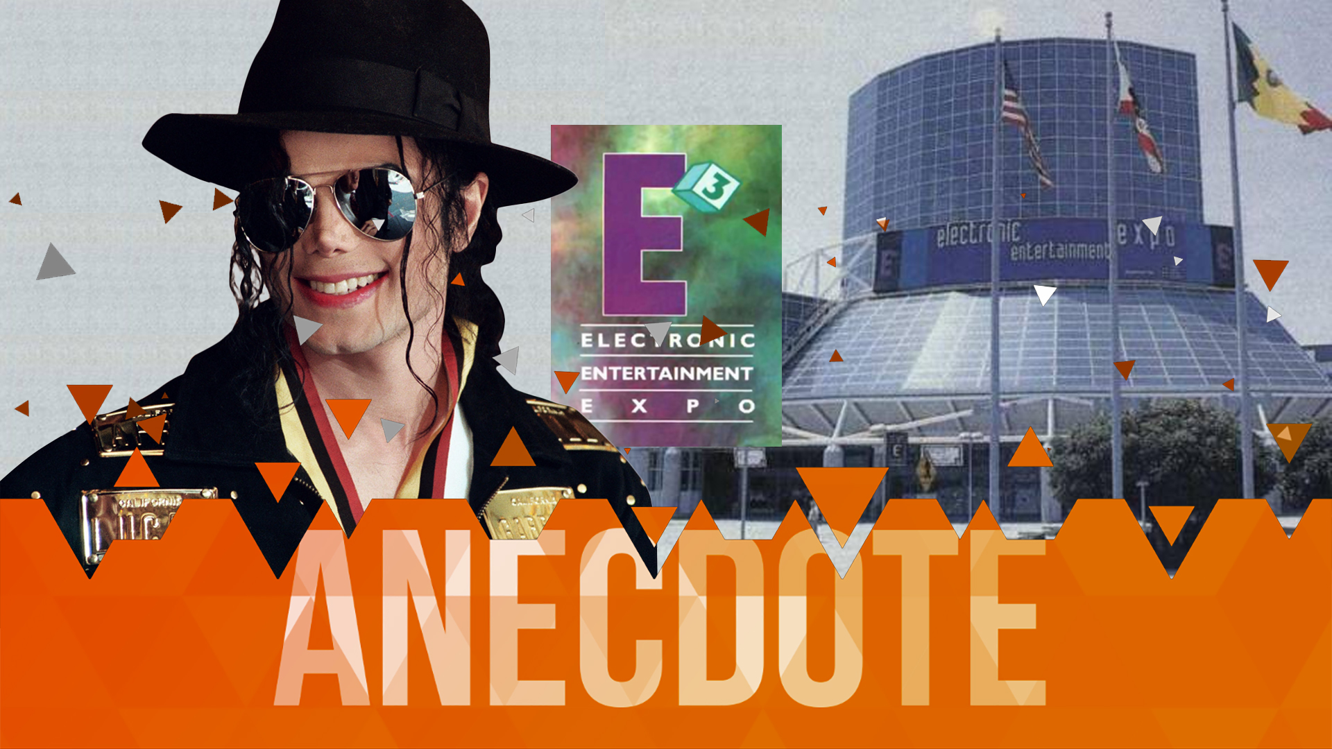 Michael Jackson à l'E3 1995